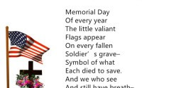 Tag Archives: Famous Memorial Day Poems For Elementary Kids