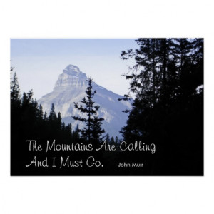 canadian_rocky_mountains_with_famous_quote_posters ...