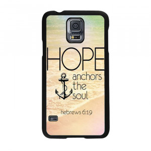 New-Arrival-Anchor-Quotes-Case-Cover-For-Samsung-Galaxy-S5-i9600 ...