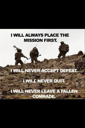 will never leave a fallen comrade, dad I've been there I got this ...