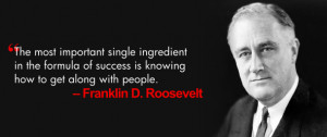 Franklin D Roosevelt Quotes