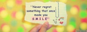 Never Regret Facebook Cover