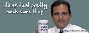 Michael Scott Worlds Best Boss