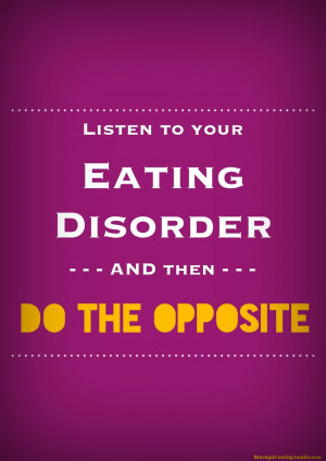 Anorexia Recovery Quotes Recovery often feels like a