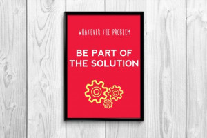 Office quote, Wall art print, printable decoration inspirational quote ...