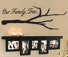 Quote Inspirational Decoration Family Tree Sticker Decal F62