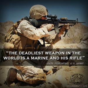 ... Quotes, Army General, Deadliest Weapons, General Quotes, Marines Corps