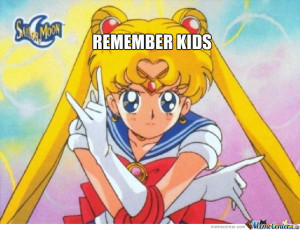 Sailor Moon Says!