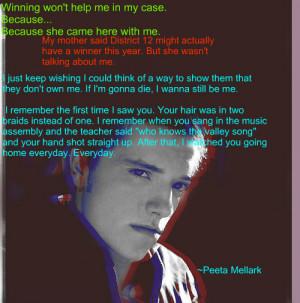 Peeta Mellark Quotes