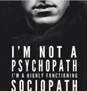Sherlock Bbc Quotes Sociopath High functioning sociopath