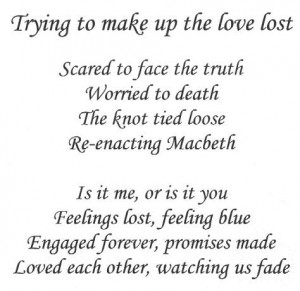 lost love poems that make you cry