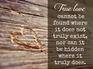 ... does not truly exist nor can it be hidden where it truly does la