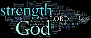 Bible Verses Showing Strength Comes From Faith Not From Fear
