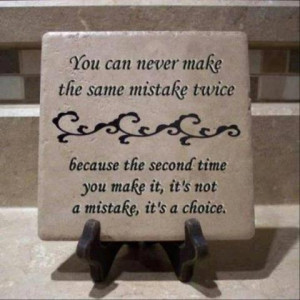 Mistakes...Good lesson here for the kiddos.