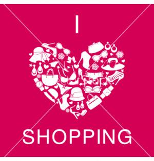 love shopping i love shopping i love shopping