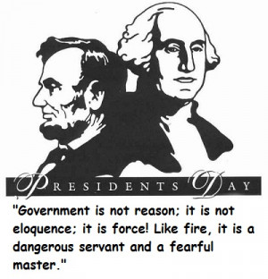 Best Presidents Day Quotes and Sayings : Presidents day