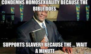 Blacks & religion & hypocrisy