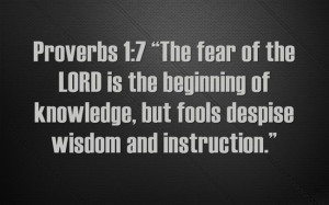 Great Lessons From the Book of Proverbs