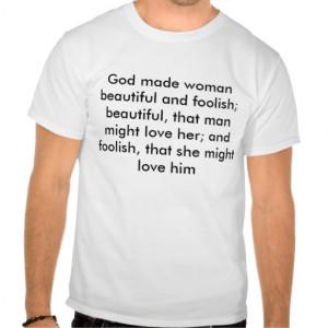 God Made Woman Beautiful