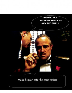 Godfather Quotes We did...welcome to the family