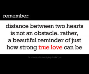 ... Beautiful Reminder of Just How Strong True Love Can Be ~ Love Quote