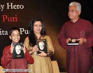 Ishan Puri, Nandita Puri & Om Puri - photo 14
