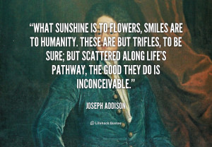 Quotes About Sunshine and Smiles