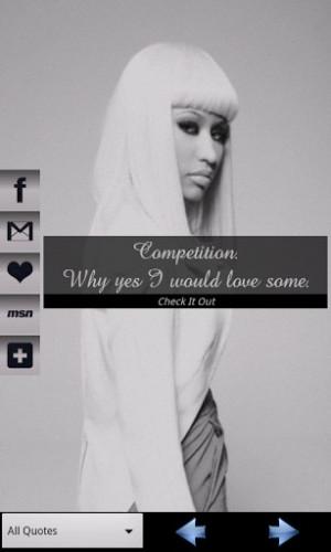 View bigger - Nicki Minaj Quotes for Android screenshot