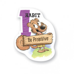 Be Proactive classroom poster