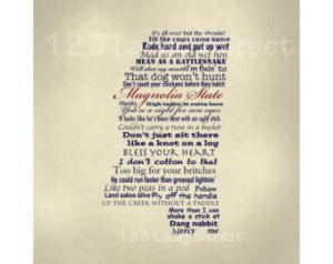 Digital Print, Humor, Digital Art P rint, Southern Sayings, 8x10 ...