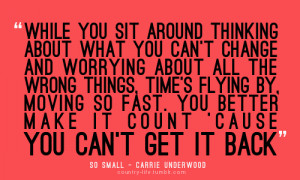 quotes carrie underwoood lyrics