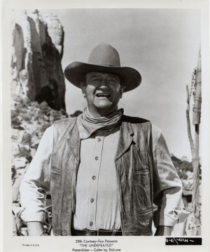 undeafeted quotes from john wayne quotesgram