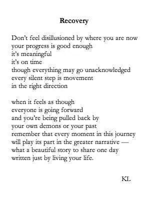 recovery beautiful # poetry # recovery # staystrong