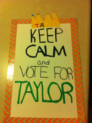 Student Council Poster...