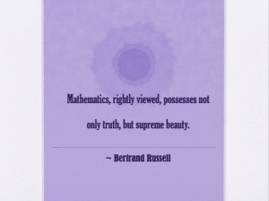 ... math quotes do you have any other inspirational quotes about math to