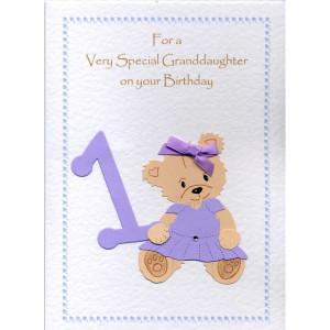 Granddaughter Birthday Pscards