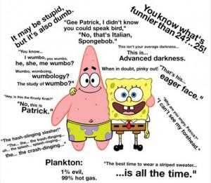funny spongebob squarepants quotes