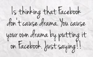 ... of Drama Quotes http://fstatuses.com/drama-facebook-statuses/655831