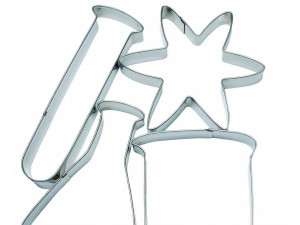 Bake beaker-shaped cookies with Science Lab Cookie Cutters.