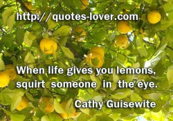 ... : Eyes Picture Quotes , Funny Picture Quotes , Lemons Picture Quotes