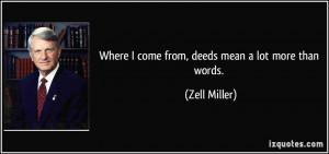 Zell Miller Quote