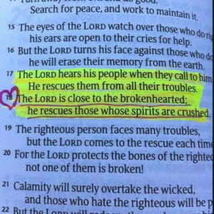 He Heals The Brokenhearted And Binds Up Their Wounds He Determines