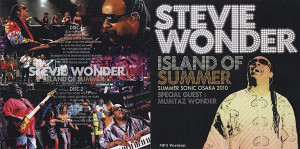 Stevie Wonder Osaka Credited