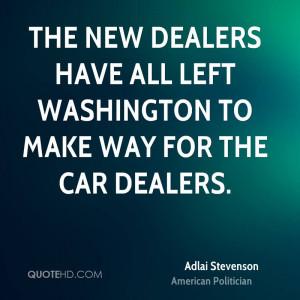 Adlai Stevenson Car Quotes