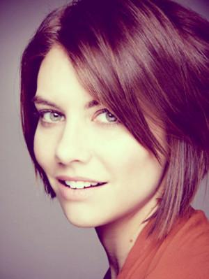 Lauren Cohan Haircut Picture