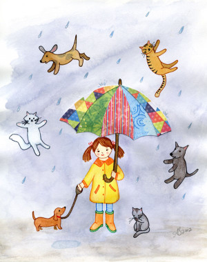G45 Raining Cats and Dogs Boxes together By Ginger Ropp ...