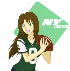 NY Jets Fan by BklynSharkExpert