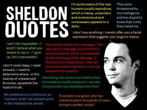 Sheldon Cooper Quotes – Big Bang Theory