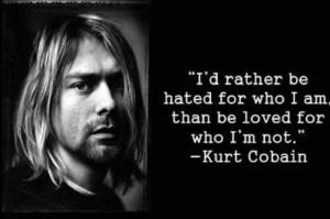 black and white, kurt cobain, quotes