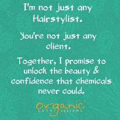 Hair Stylist Quote ♥ More